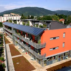 Solar Space Heating System - Graz, Austria