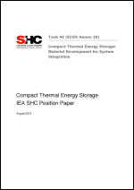Compact Thermal Energy Storage: Material Development for System Integration