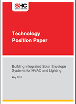 Building Integrated Solar Envelope Systems for HVAC and Lighting